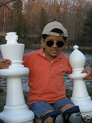 """GIANT Chess Set, 25"""" tall King! 86 sets Sold BEST price online BIG FUN SAVE $$$"""