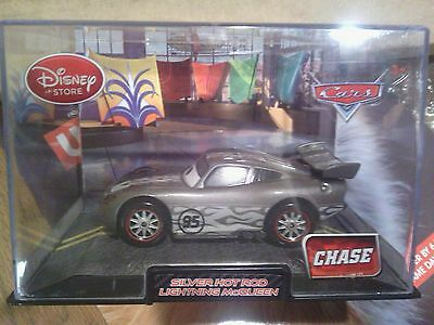Silver Hot Rod Lightning McQueen Chase Disney Store Exclusive Disney Cars