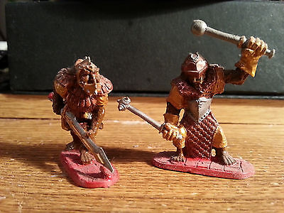 Dungeons & Dragons Miniature Figure Pewter AD&D Armored Ogre Ral Partha