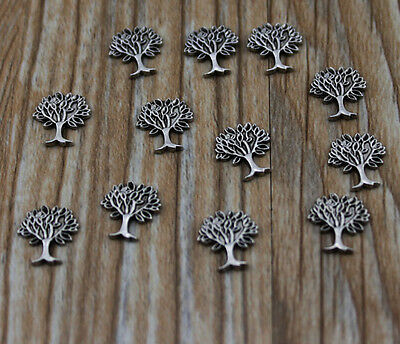 10pcs tree wholesale Floating Charms for Glass Memory Locket necklace e23