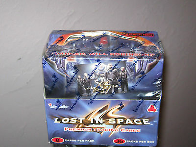 Lost in Space the MOVIE trading cards  Box Factory Sealed 36 pks Inkworks