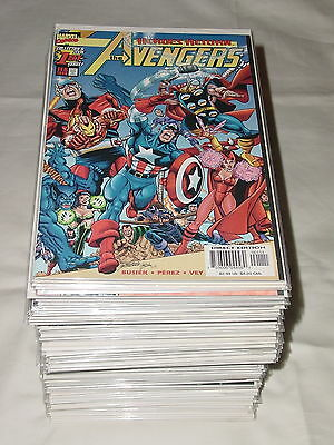 AVENGERS 3rd 1998 Series 1-84 Partial Set 1-81 Full Run 83 TOTAL ISSUES Marvel