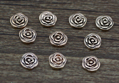 10pcs flower wholesale Floating Charms for Glass Memory Locket necklace e47