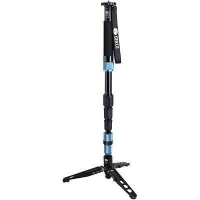 Sirui P-204S 4-Section ProMonopod w/ Three feet Support Stand DHL shipping