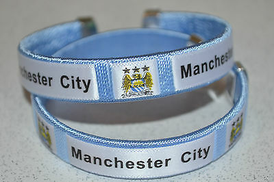 MANCHESTER CITY Football Souvenir Bracelet/Wristband