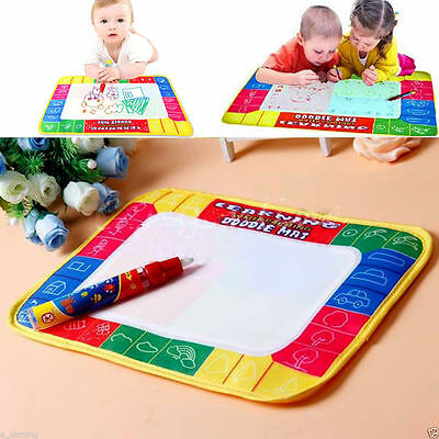 Develop Intelligence Painting Magic Pen Baby Toys Water Mat Drawing Kid Learning