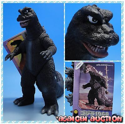 "2006 tag 6"" GODZILLA 1968 BANDAI vintage monster figure sofubi from Japan !!"
