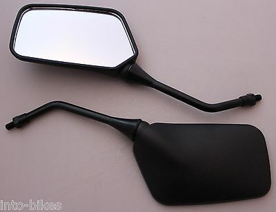 Pair Universal Scooter/moped/​motorcycle Mirrors 8Mm Black Bike Rear View Side
