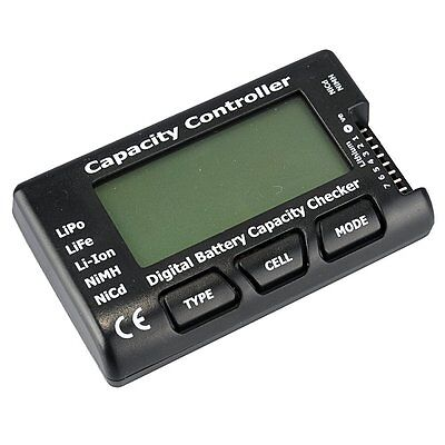 RC Cell Meter-7 Digital Battery Capacity Checker for NiCd/NiMH/LiPo ST