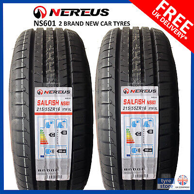 2 X New 215 55 16 EVENT POTENTUM 97W XL 215/55R16 2155516 *B WET GRIP* (2 TYRES)