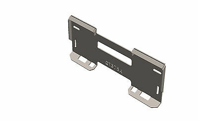 """Skid Steer Quick Attach Mount Plate 3/8"""" - QT375A - MADE IN THE USA"""