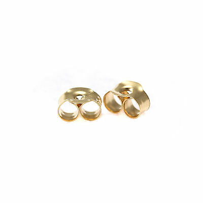 9ct Gold Butterfly Backs Scrolls for Stud Earrings Small Large XXL / Multi Packs