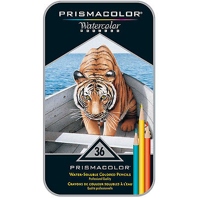Prismacolor Watercolor Pencil Assorted Color Gift Set of 36
