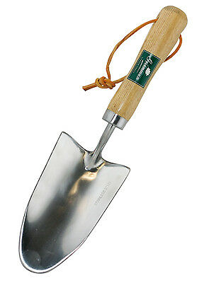 Greenman Trowel hand tool ash wood handle stainless steel garden equipment