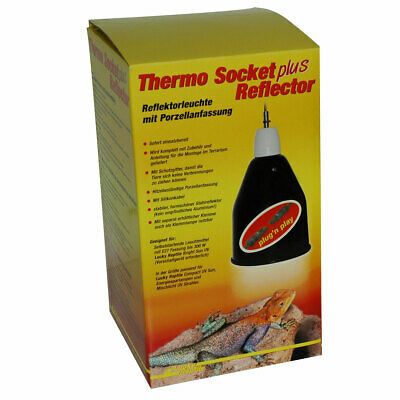 Lucky Reptile Thermo Socket plus Reflektor groß mit Steckverbinder - PNP