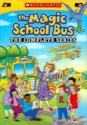 The Magic School Bus: The Complete Series (DVD, 2012, 8-Disc Set) Free Shipping