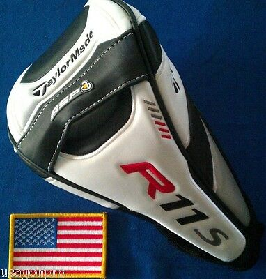 NEW TaylorMade R11s TP Driver HeadCover Superdeep Supertri R7 460 R1 limited