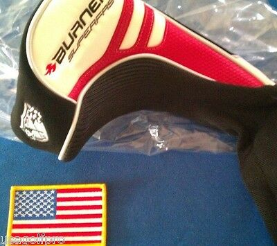 NEW! IN PLASTIC TAYLOR MADE BURNER SUPERFAST DRIVER TP HEADCOVER 2.0 HEAD COVER