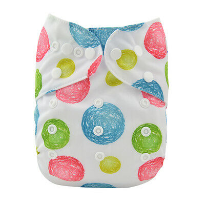 1 Baby Cloth Diaper Reusable Washable Adjustable Pocket Cover Nappy