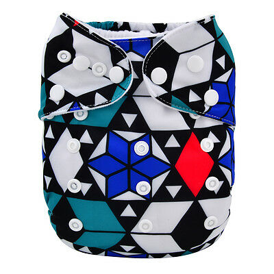 1 New Snow Baby Cloth Diaper Reusable Washable Adjustable Pocket Nappy Cover