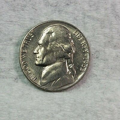 1962 D Jefferson Nickel, BU, Nice, Uncirculated, Fresh From Bank Rolls....