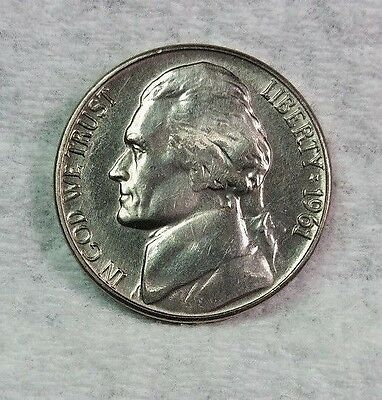 1961 D Jefferson Nickel, Brilliant Uncirculated, From Bank Rolls....Free Ship