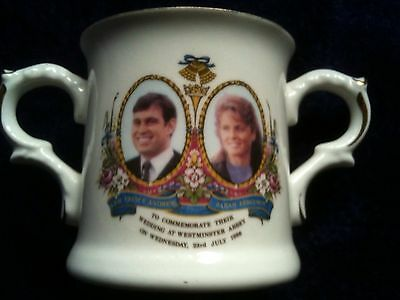 China Royal Wedding Loving Cup -  COMMEMORATIVE - Sarah & Andrew - COLLECTIBLE