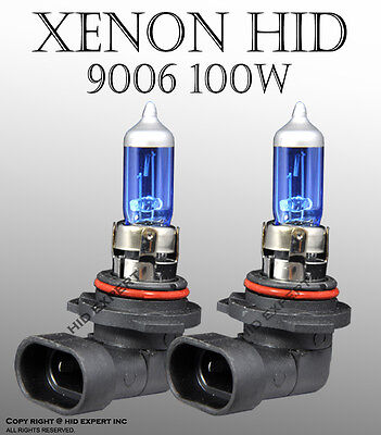 ABL 9006  DOT 100W Pair Low/ Fog Xenon HID Cyrstal White Replace Light Bulbs B1