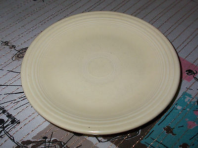 "ONE VINTAGE SOFT YELLOW FIESTA WARE BREAD PLATE~6 3/8""~RETRO!"