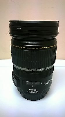 Canon EF-S 17-55 mm F/2.8 IS USM Lens With Hood And Caps