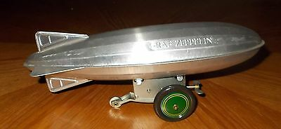 "GRAF ZEPPELIN WIND UP TOY 9 1/2"" LONG SCHYLLING"