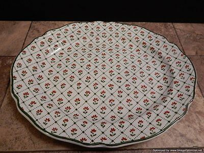 """J & G Meakin Montpellier Country French Dinner Plate 9-3/4"""" Ironstone England"""