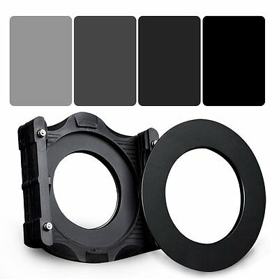 Zomei 150*100mm Square Neutral Density filter+ND2+ND4+ND8+ND16+Holder+67mm ring
