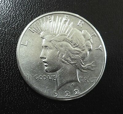1922-P Peace Silver Dollar - nice depth & luster