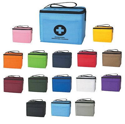 50 IMPRINTED 6-PACK COOLERS Lunch Beach Travel - MORE PRODUCTS IN OUR STORE