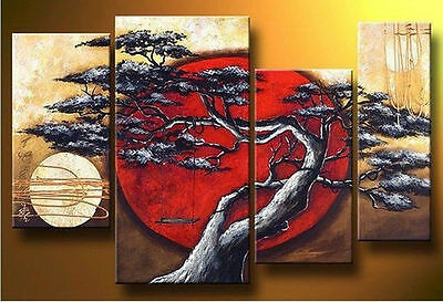 Handmade MODERN ABSTRACT HUGE WALL ART OIL PAINTING ON CANVAS (no framed)