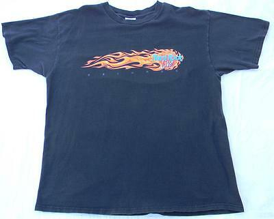 Hard Rock Cafe Live Orlando Florida Men's Black T Shirt XL Flaming Logo Love All