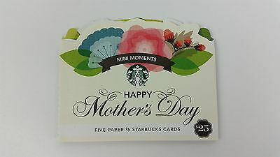 Starbucks Mothers Day Gift Card 2012 Mini Moments Hard To Find Reired #32