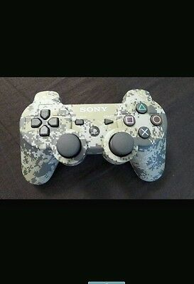 Official Sony PS3 Wireless Dualshock 3 Controller (Camo)