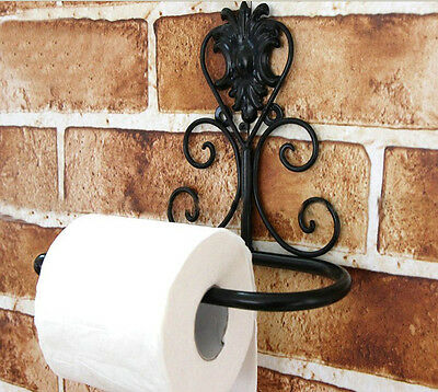 NEW Luxury Oil Rubbed Bronze Wall Mounted Toilet Paper Holder Tissue Roll Holder