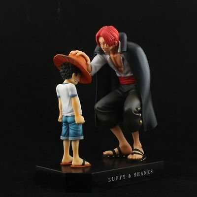 One Piece Anime Memories Child Luffy & Red Heared Shanks Promise Figure Set