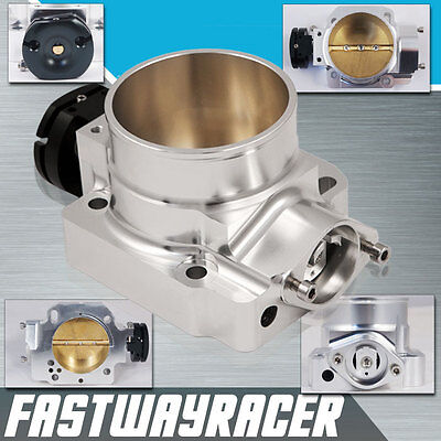JDM EF EG EK DA DC2 B16A B18B B18C1 Bolt on Aluminum Silver 70MM Throttle Body