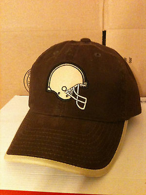 *** BRAND NEW *** AMERICAN NEEDLE - CLEVELAND BROWNS - BROWN & TAN - NFL HAT/CAP