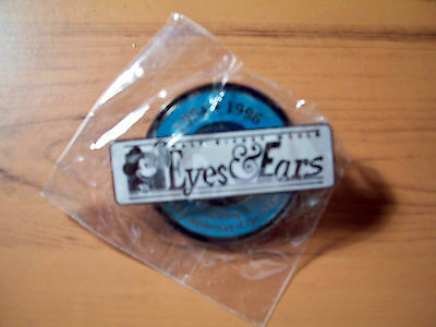 WDW Cast Member Eyes and Ears Series #8 (1994-1996) Pin - MINT IN BAG!