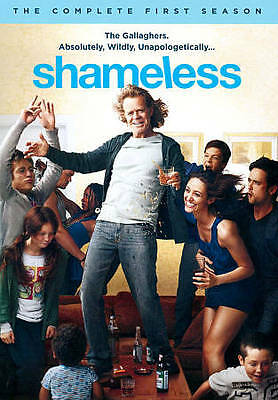 Shameless: The Complete First Season (DVD, 2011, 3-Disc Set) NEW