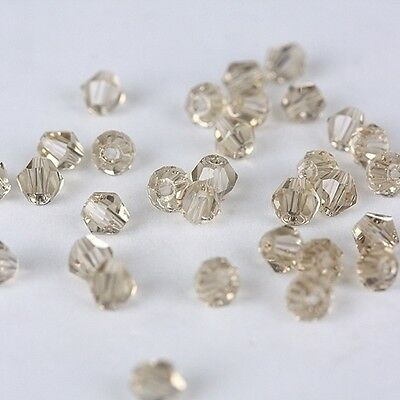 Free Shipping DIY jewelry 100pcs 5301 Austria Crystal 3mm bicone Beads D01