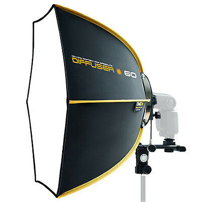 "SMDV Soft-box Hexagon Diffuser 60 23"" for Quantum Flash Speed-light Speed-lite"
