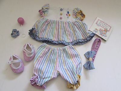 Retired American Girl Bitty Baby complete 2009 Circus Set Outfit