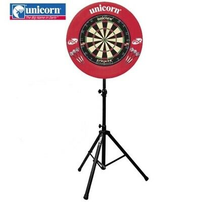 Gorilla Arrow Pro Portable Dartboard Darts Caddy Dart Board Stand + Unicorn SET