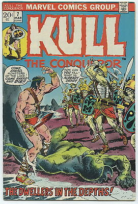 KULL THE DESTROYER (CONQUEROR), Issue #7, (Marvel 1972), FN